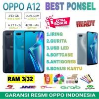 OPPO A12 RAM 3/32 GARANSI RESMI OPPO INDONESIA