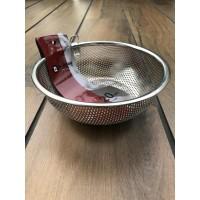 S/S Punching Basket 20 Cm (Rem-Z1220) / Saringan Mangkuk SS