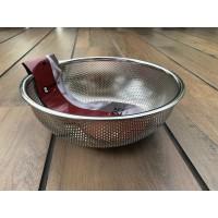 S/S Punching Basket 25 Cm (Rem-Z1225) / Saringan Mangkuk SS