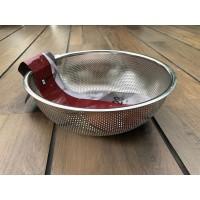 S/S Punching Basket 28 Cm (Rem-Z1228) / Saringan Mangkuk SS