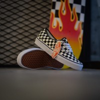 Vans authentic checkerboard goldcoast