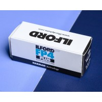 FILM ILFORD FP4 PLUS ISO 125 120 BW 120mm analog roll Medium format