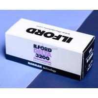 FILM ILFORD DELTA 3200 ISO 120 BW 120mm analog roll Medium format