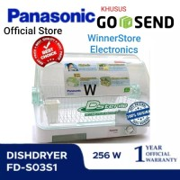 New Sterilizer/Dish Dryer PANASONIC Dsterile *KHUSUS MEDAN