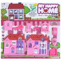 ZM Mainan Anak Happy Home Hello Kitty 9662 - Rumah - Rumahan
