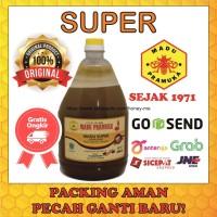 Madu Asli Super 2L Madu Pramuka Alami (Madu + Pollen + Royal Jelly)