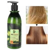 BIOAQUA Shampoo olive 400ml perawatan rambut rusak 100% Original