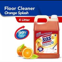 SOS Floor Cleaner 4 Liter Pembersih Lantai
