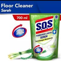 SOS Pembersih lantai sereh Refill 700 ml