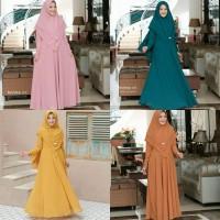 gamis syari wanela 21 - pakaian muslim wanita