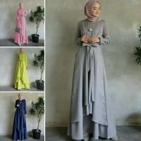 maxi nola 21 - gamis wanita - maxi dress - pakaian muslim wanita