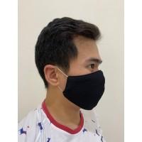 MASKER KAIN + SPUNDBOND LAPISAN DALAM (EAR LOOP) SUPER QUALITY