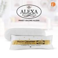 Guling Alexa dari Silicone Fiber Berkualitas, pillow bolster