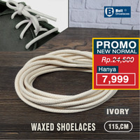 Tali Sepatu Lilin bulat ( Round ) Waxed Round Shoelaces 115cm