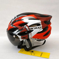 Helm Sepeda Cairbull allroad with magnetic lens not rockbros gub rnox