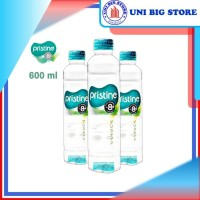 Pristine 8+ Water 600 ml x 24 Botol Air Mineral Air Alkali