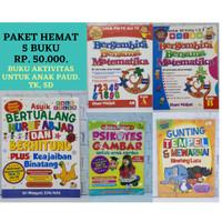 PAKET HEMAT, Buku Aktivitas Untuk Anak PAUD, TK SD