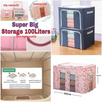 Super Big Storage Box 100Liters Capacity / RakTempat Penyimpanan