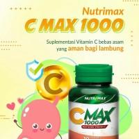 Vitamin C (C Max 1000) isi 30 Tablet Calcium Ascorbate 1000 mg/BPOM