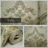 Wallpaper Sale Ready Klasik Mocca 53CM X 10M