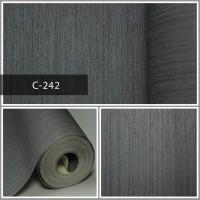 Wallpaper Sale Ready Abu-abu Polos 53CM X 10M