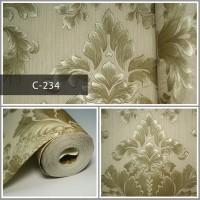 Wallpaper Sale Ready Batik Emas 53CM X 10M