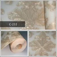 Wallpaper Sale Ready Batik Soft Krem 53CM X 10M