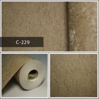 Wallpaper Sale Ready Coklat 53CM X 10M