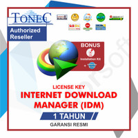 Lisensi Key Internet Download Manager (IDM) ORIGINAL - 1 TAHUN