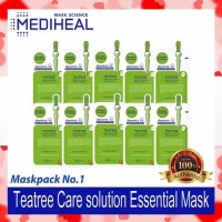 MEDIHEAL Teatree Care Solution Essential Mask Sheet (10pcs+Box)