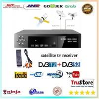 Receiver HDTV DVB T2 Digital MediaCorp Full HD 1080P Set Up Kotak TV