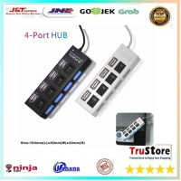 USB HUB 4 Ports 2.0 HUBWith Independent ON OF for Laptop PC / Notebook