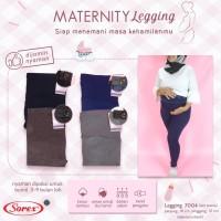 Celana Legging Penyangga Perut Wanita Ibu Hamil Kancing Sorex 7004