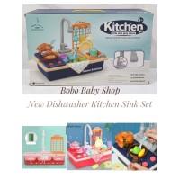 M157 Mainan Cuci Piring Dishwasher - Electric Dish Washer Set Anak