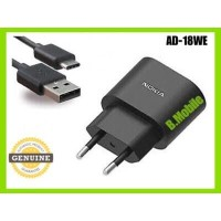 Travel Charger Nokia 8, 9 Pureview, X71 Model AD-18WE Type C Original