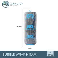 Bubble Wrap Hitam 1 Roll
