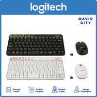 Logitech Wireless Combo Mouse Keayboard MK240 - Original Garansi Resmi