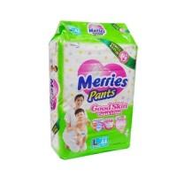 Merries Pants Ukuran L 44 FREE ONGKIR Popok Bayi Sekali Pakai