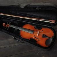 Biola Vienna Original Full Set Hardcase / Biola Akustik Impor