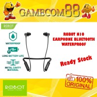 Robot Spirit N10 Earphone Bluetooth Wireless Waterproof Black