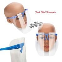 face Shield kacamata / face Shield anti fog / pelindung wajah kacamata
