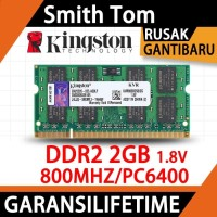 Ram kingston Laptop Ddr2 2gb Pc6400