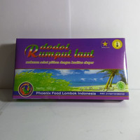 Cemilan Tradisional / Dodol Rumput Laut Lombok Indonesia 160 Gram