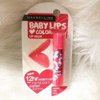 Maybelline Baby Lips Color Lip Balm Spf 20 - cherry kiss