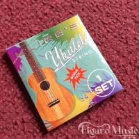 Senar Ukulele Clear Warna merk KLIRE'S - 1 Set Bonus Pick
