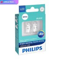 Philips Ultinon LED T10 Lampu Senja / Interior / Plat Nomor Putih