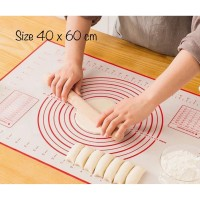 PANACHE Non Stick Silicone Mat Baking Tools Pastry Bread Mat Alas Kue