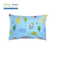 Sleep Max Pillow Cover Junior/Sarung Bantal Balita 35x50 Cm-Animals Bl