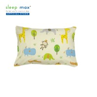 Sleep Max Pillow Cover Junior/Sarung Bantal Balita 35x50 Cm-Animals Cr