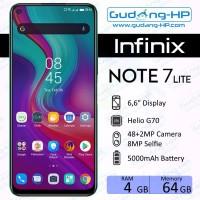 Infinix Note 7 Lite 4/64 GB Garansi Resmi